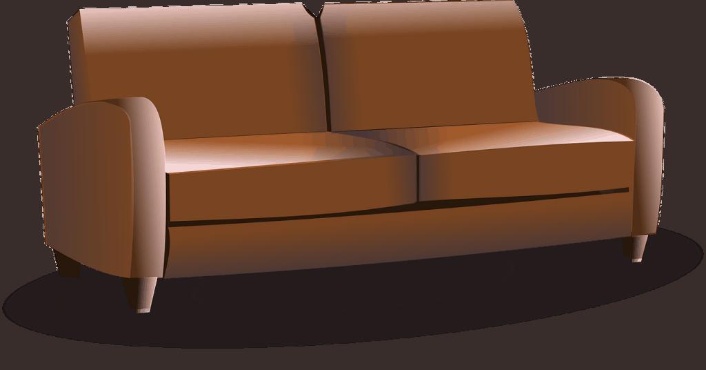 ספה חומה