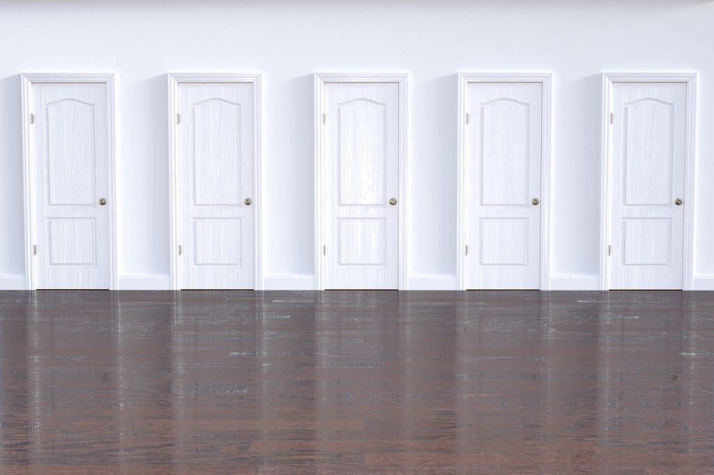 מבחר של דלתות