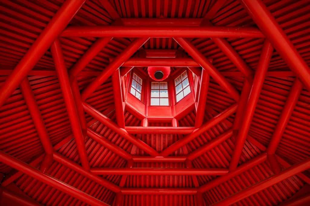 גג אדום